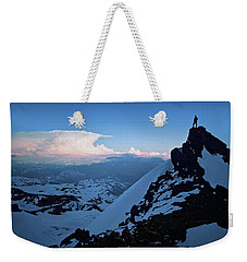 The Sunset Wave Weekender Tote Bag