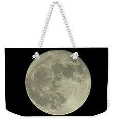 Weekender Tote Bag featuring the photograph The Super Moon 3 by Robert Knight