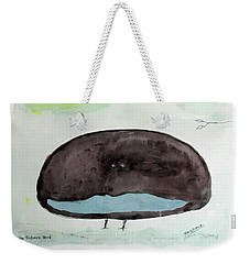 The Superb Bird Weekender Tote Bag