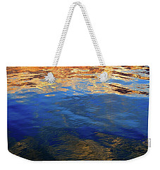 The Surface Is A Reflection  Weekender Tote Bag by Lyle Crump