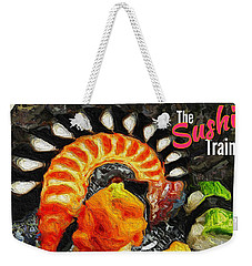 The Sushi Train Weekender Tote Bag