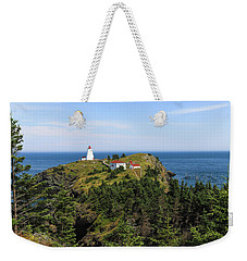 The Swallowtail Lightstation Weekender Tote Bag