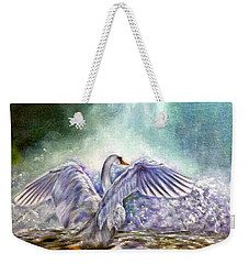 The Swan's Song Weekender Tote Bag
