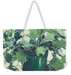 The Sweet Potato Plant Weekender Tote Bag