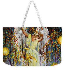 The Swinging Angel Weekender Tote Bag