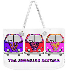 The Swinging Sixties Weekender Tote Bag