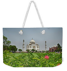The Taj Mahal Weekender Tote Bag