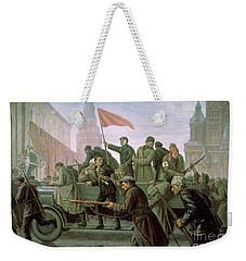 The Taking Of The Moscow Kremlin In 1917 Weekender Tote Bag
