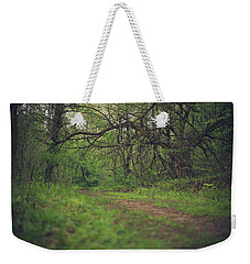Weekender Tote Bag featuring the photograph The Taking Tree by Shane Holsclaw