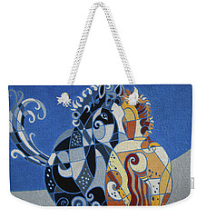 The Tao Of Friendship Weekender Tote Bag