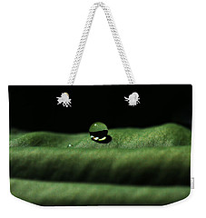 The Tao Of Raindrop Weekender Tote Bag by Connie Handscomb