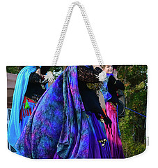 Weekender Tote Bag featuring the photograph The Teacher II by Kathy Baccari