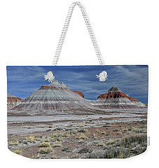 Weekender Tote Bag featuring the photograph the TeePees by Gary Kaylor