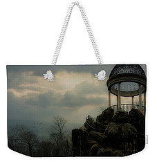 Weekender Tote Bag featuring the photograph The Temple Of Love Overlook by Chris Lord