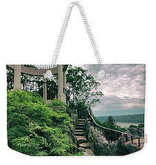 The Temple Walkway Weekender Tote Bag by Jessica Jenney