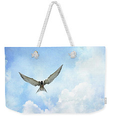 The Tern - Elegance In Flight Weekender Tote Bag