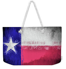 The Texas Flag Weekender Tote Bag by JC Findley