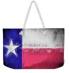 The Texas Flag Weekender Tote Bag