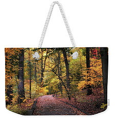 Weekender Tote Bag featuring the photograph The Thain Forest by Jessica Jenney