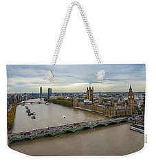 The Thames At Sunset Weekender Tote Bag