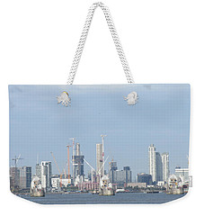 The Thames Flood Barriers - East London Weekender Tote Bag