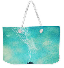 The Thing About Jellyfish Weekender Tote Bag