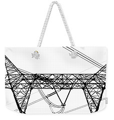 The Thing Above Bw 2 Weekender Tote Bag by Mary Bedy