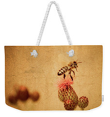 The Thistle And The Bee Weekender Tote Bag
