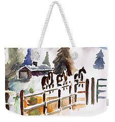 The Three Amigos Weekender Tote Bag