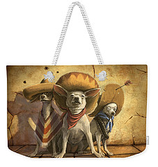 The Three Banditos Weekender Tote Bag
