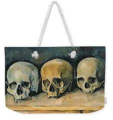 The Three Skulls Weekender Tote Bag