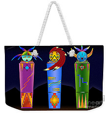 The Three Spirits Weekender Tote Bag