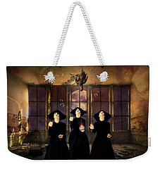 The Three Witches Weekender Tote Bag