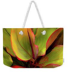 The Ti Leaf Plant In Hawaii Weekender Tote Bag