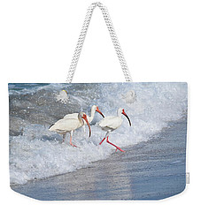 The Tide Of The Ibises Weekender Tote Bag