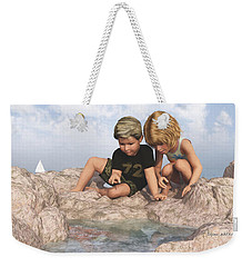 The Tide Pool Weekender Tote Bag