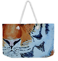 The Tiger Weekender Tote Bag by Steven Ponsford