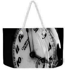 The Time Weekender Tote Bag by Edgar Laureano