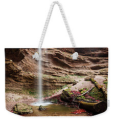 The Tiny Waterfall Weekender Tote Bag
