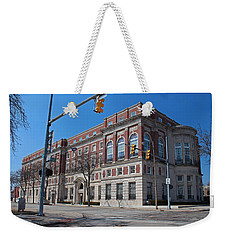 Weekender Tote Bag featuring the photograph The Toledo Club by Michiale Schneider
