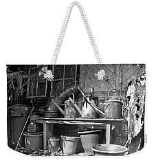 The Tool Shed Weekender Tote Bag