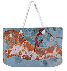 The Toreador Fresco, Knossos Palace, Crete Weekender Tote Bag by Greek School