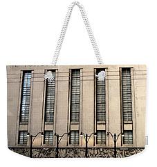 The Toronto Stock Exchange Weekender Tote Bag by Ian  MacDonald