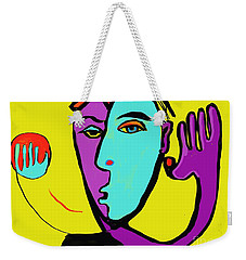 The Toss Weekender Tote Bag by Hans Magden