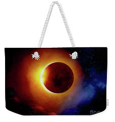 The Total Eclipse Weekender Tote Bag