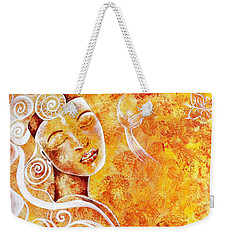 The Touch Of Grace Weekender Tote Bag
