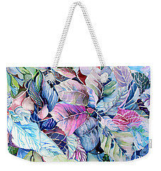 The Touch Of Silence Weekender Tote Bag by Mindy Newman