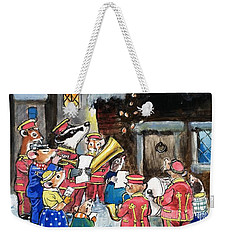 The Town Mouse And The Country Mouse Weekender Tote Bag by Philip Mendoza