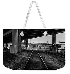 The Tracks And The Overpass Weekender Tote Bag
