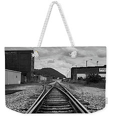 The Tracks Weekender Tote Bag